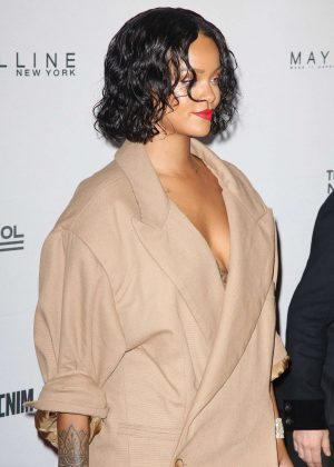 Rihanna - 69th Annual Parsons Benefit in New York City