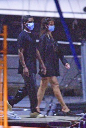 Rihanna and ASAP Rocky - Spend their Christmas Eve on a cruise in Barbados
