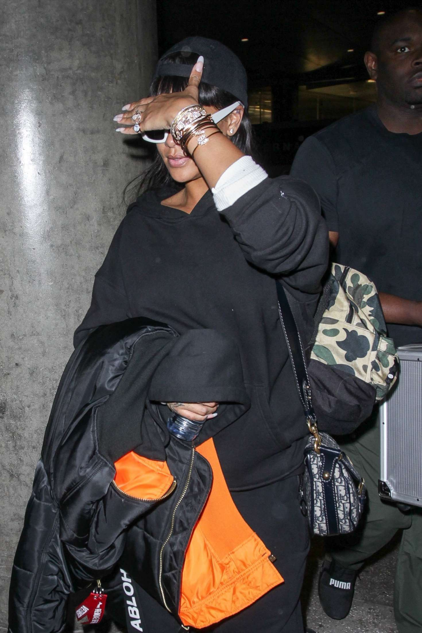 Rihanna - Arrives at LAX Airport in Los Angeles