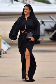 Rihanna - Arriving in Barbados for Crop Over Festival