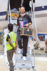 Rihanna - Arriving in Bridgetown