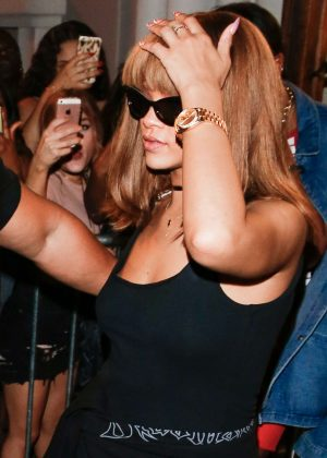 Rihanna at Flamingo nightclub in Zurich