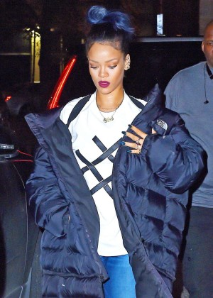 Rihanna at Haus Club in Tribeca