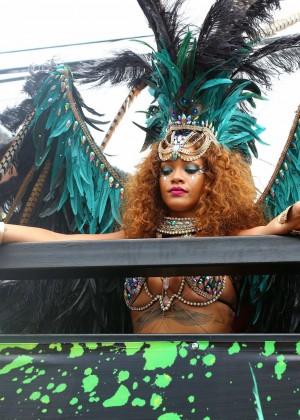 Rihanna at Kadooment Day -05