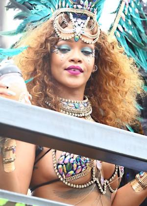 Rihanna at Kadooment Day -06