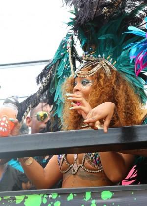 Rihanna at Kadooment Day -10
