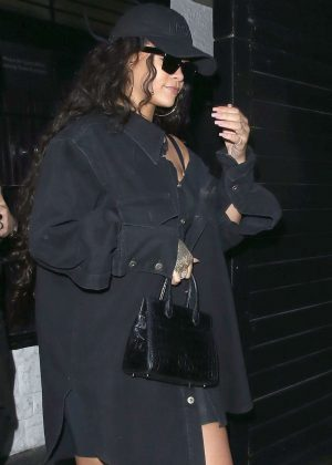 Rihanna at The Scotch Of St James Night Club in Mayfair
