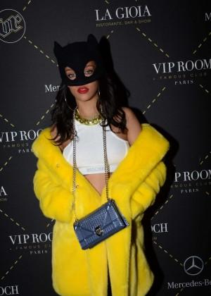 Rihanna at the VIP Room in Paris