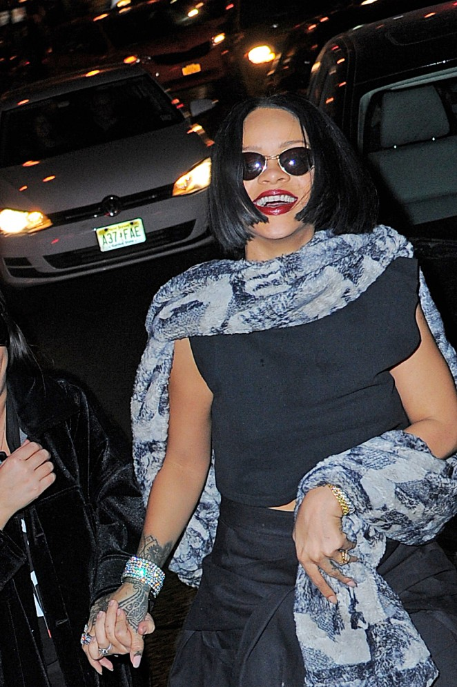 Rihanna at 'Up and Down' Night Club in New York