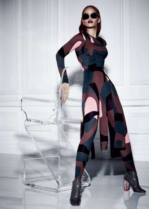 Rihanna: Dior Magazine Fall 2015 -04