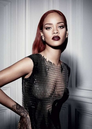 Rihanna: Dior Magazine Fall 2015 -06