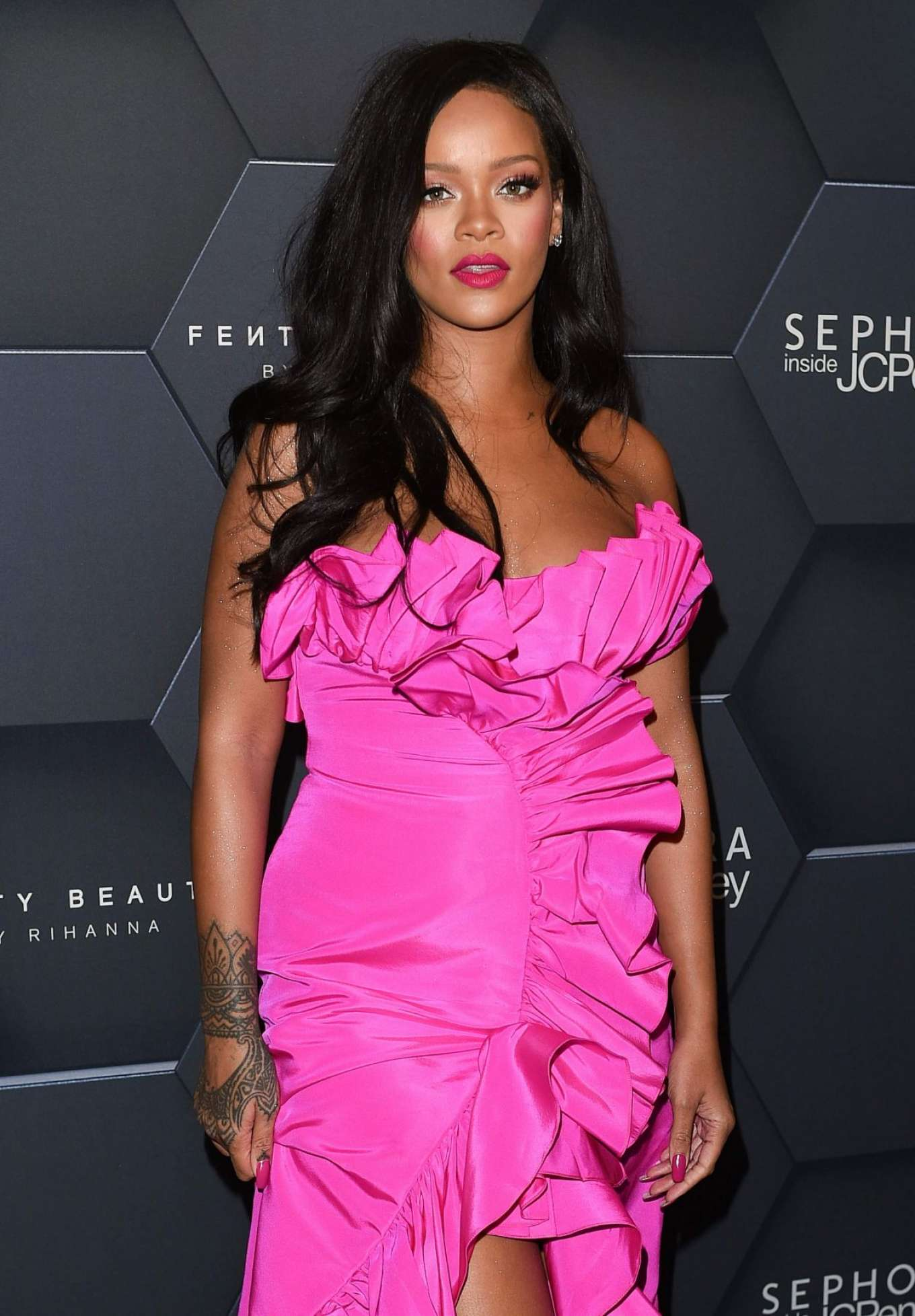 Rihanna - Celebrates Fenty Beauty Brand in New York