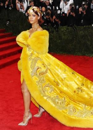 Rihanna - 2015 Costume Institute Gala in NYC