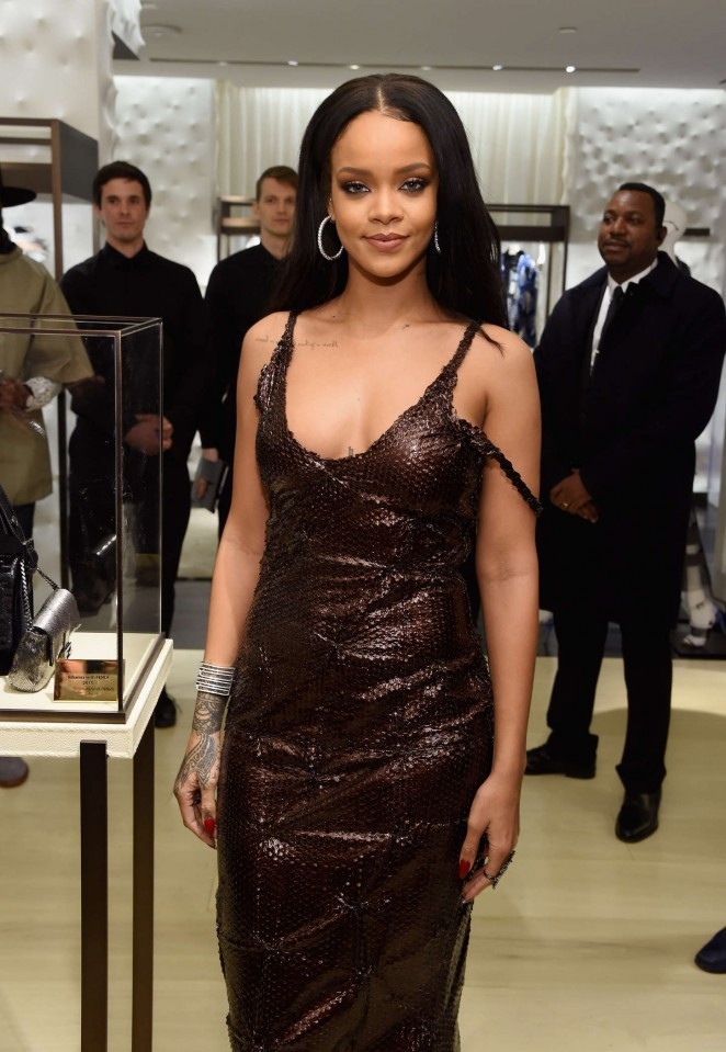 Rihanna - Fendi New York Flagship Boutique Inauguration Party in NYC