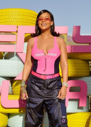 Rihanna - Fenty x Puma Coachella Party in Indio
