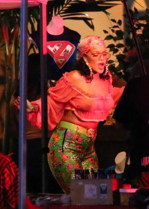 Rihanna - Ffilmed a music video with DJ Khaled in Miami