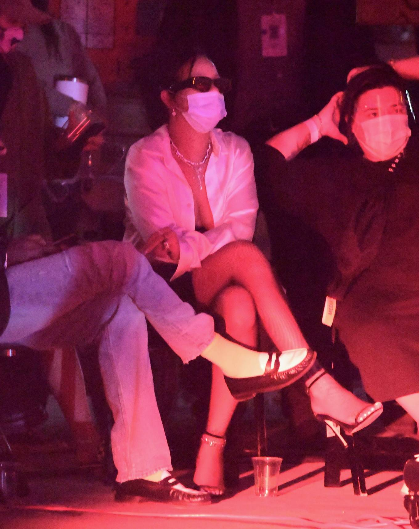 Rihanna - Filming Her Latest Savage x Fenty Fashion Show