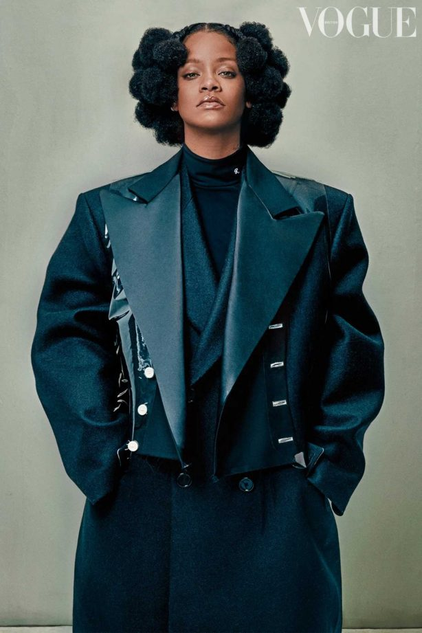 Rihanna for British Vogue Magazine (May 2020)