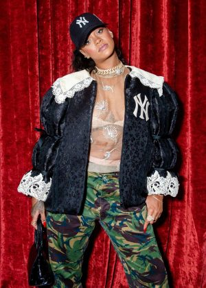 Rihanna - Gucci Wooster Store Opening in New York