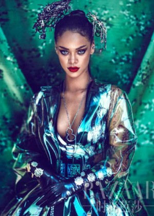 Rihanna - Harper's Bazzar China Magazine (April 2015)