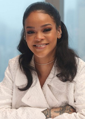 Rihanna - 'Home' Press Conference in NYC