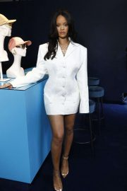 Rihanna - Hosts Fenty Luxury Pop up Launch in Paris