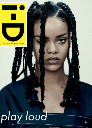 Rihanna - i-D Magazine Music Cover 2015