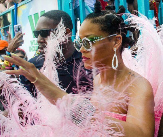 Rihanna 2019 : Rihanna in Pink at Kadooment Day Parade-21