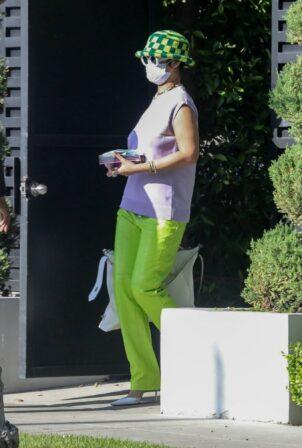 Rihanna - Leaves boyfriend ASAP Rocky's house in Los Angeles