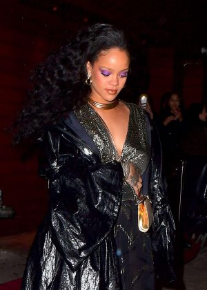 Rihanna - Leaving 1Oak Nightclub in NYC