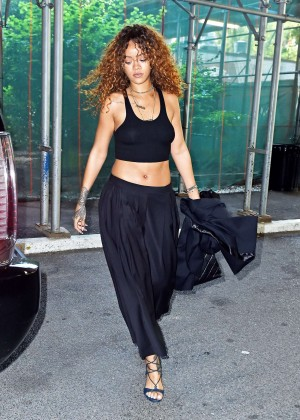 Rihanna - Leaving dentist's office in New York