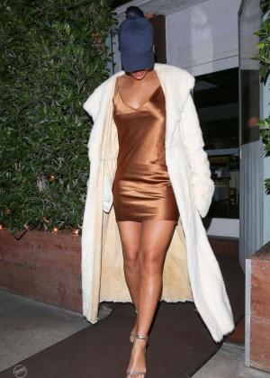 Rihanna in Short Mini Dress -07