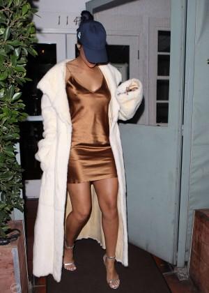 Rihanna in Short Mini Dress -09
