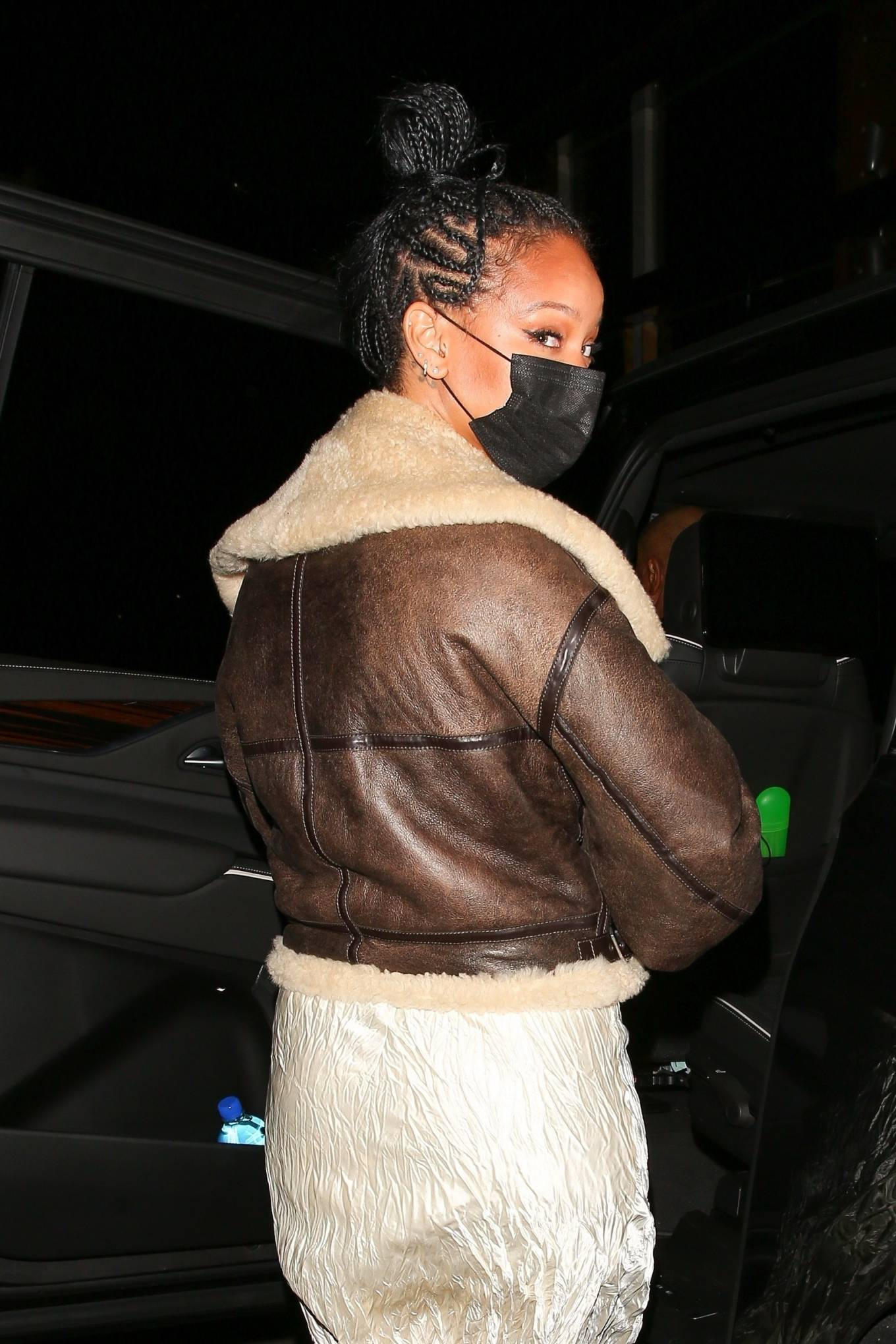 Rihanna 2021 : Rihanna – leaving Nobu restaurant in West Hollywood -10