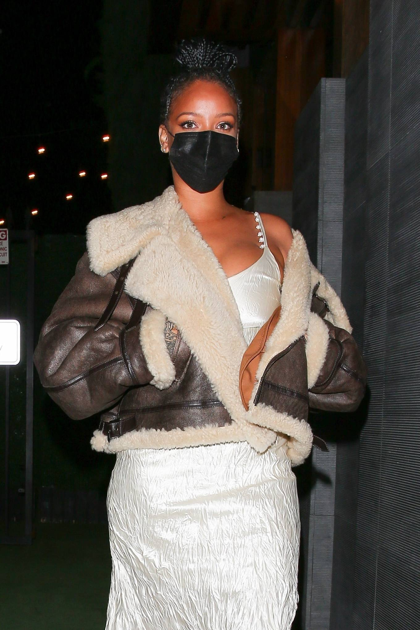 Rihanna 2021 : Rihanna – leaving Nobu restaurant in West Hollywood -18