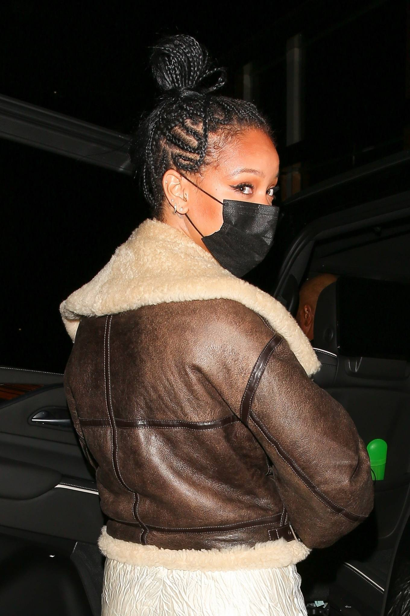 Rihanna 2021 : Rihanna – leaving Nobu restaurant in West Hollywood -20