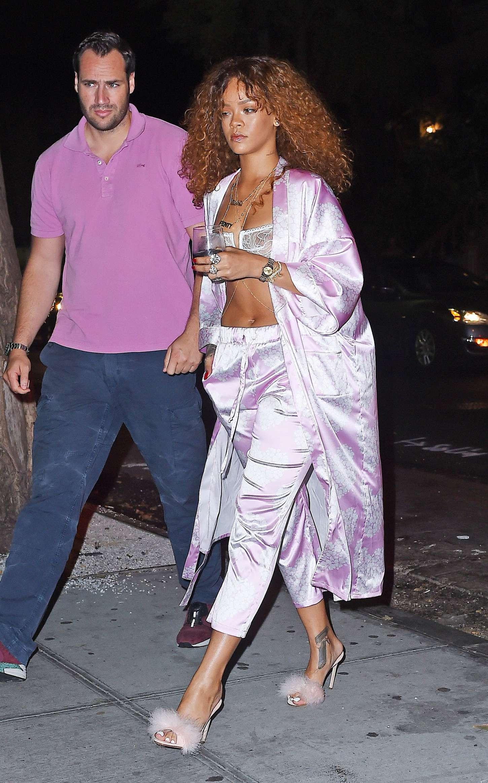 Rihanna: Leaving Recording studio -24