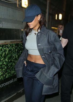 Rihanna Leaving Tape nightclub in London