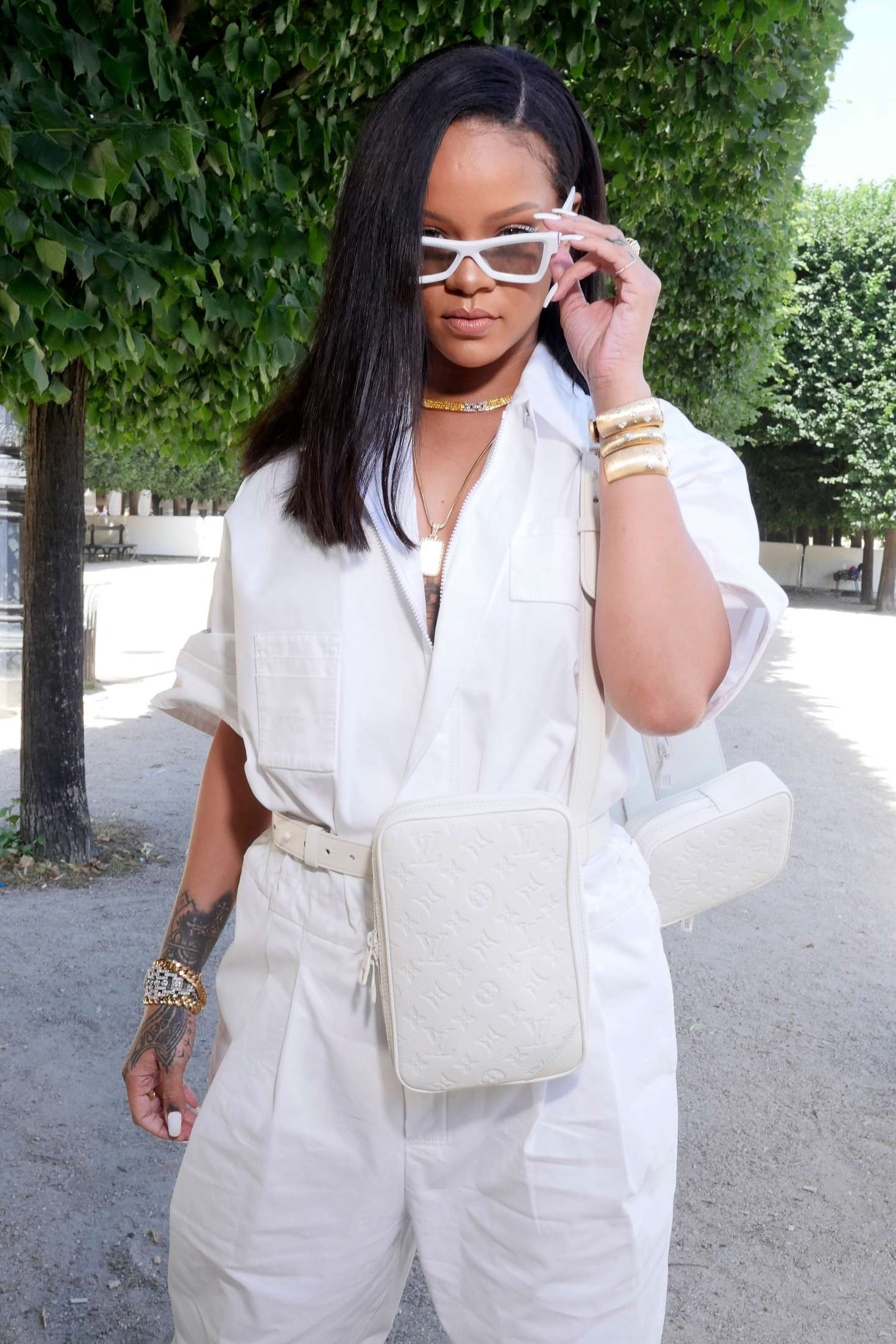 Rihanna – Louis Vuitton Show SS 2019 at Paris Fashion Week