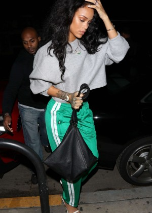 Rihanna Night Out in Los Angeles