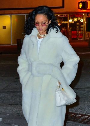 Rihanna - Night out in New York