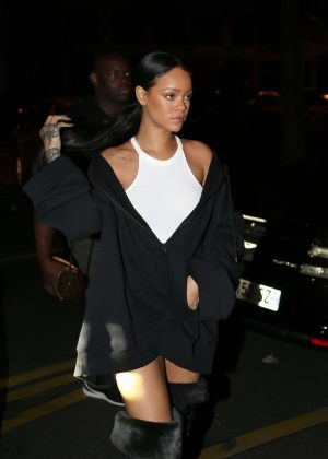 Rihanna Night Out in Paris