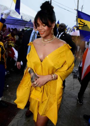 Rihanna - Opening ceremony of new road named 'Rihanna Drive' in Barbados