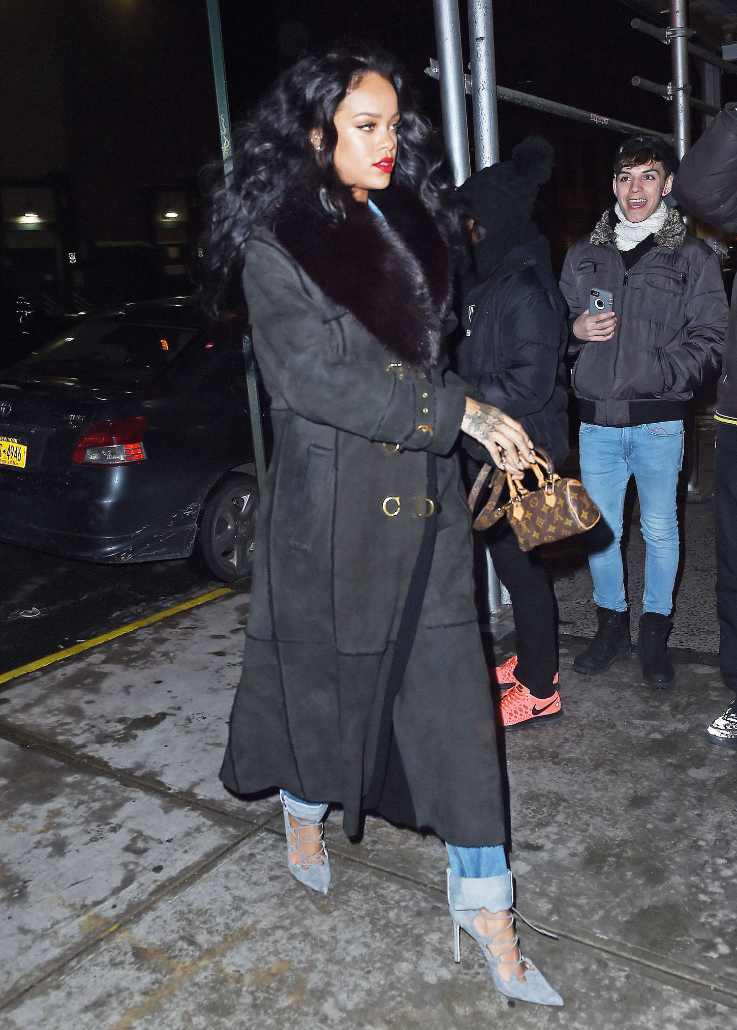 Rihanna - Out and about in New York City