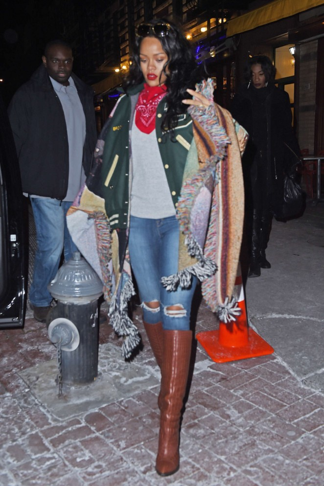 Rihanna – Out and about in New York City