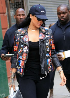 Rihanna - Out and about in NYC