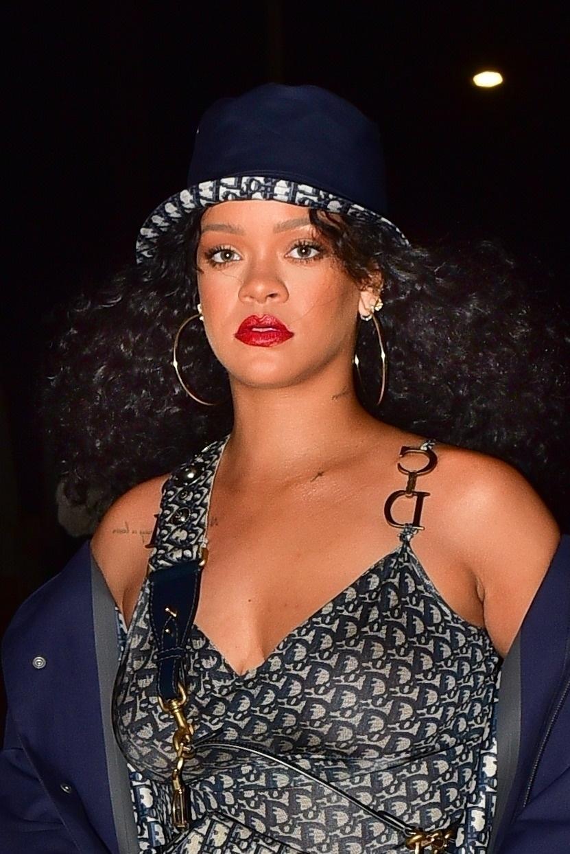 Rihanna - Out for a Dinner at Giorgio Baldi in Santa Monica