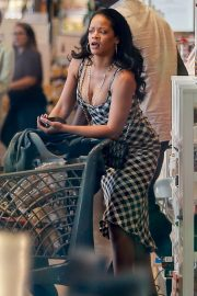 Rihanna - Out grocery shopping in Los Angeles