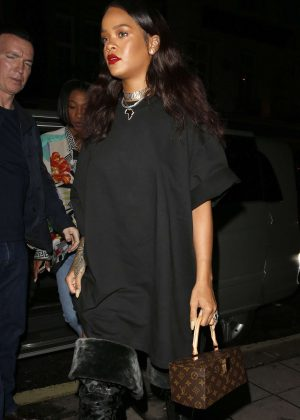 Rihanna - out in London