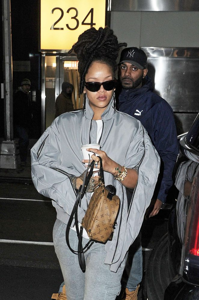 Rihanna out in Manhattan
